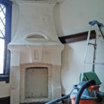 Durand Tudor Hearth Ceiling Wall Repair Finishing