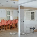 Kitchen Wall and Ceiling Drywall Finishing and Repair